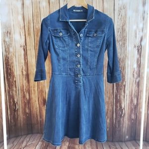 Denim Dress 36/Small Medium Eric Alexandre